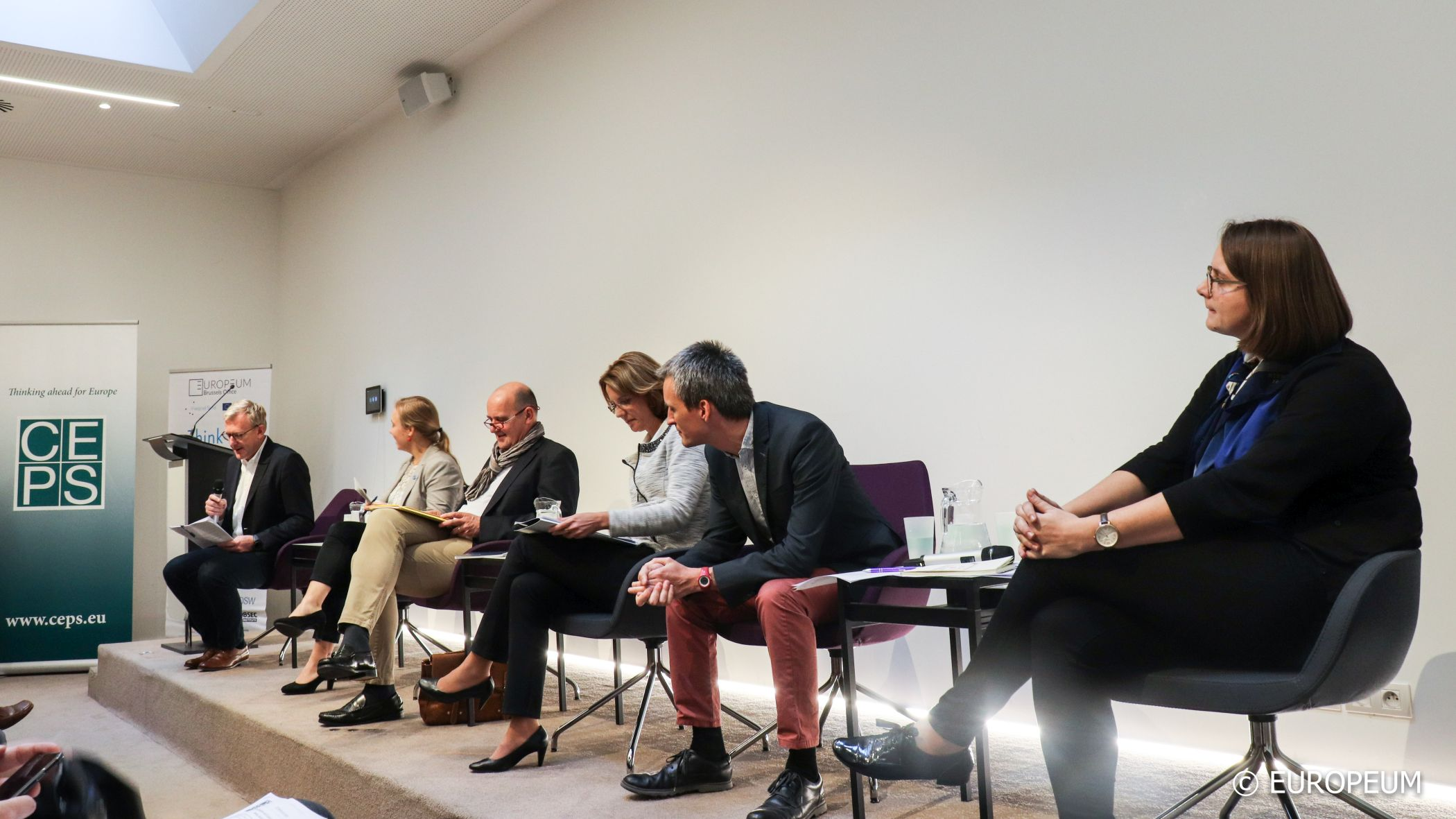Image for Piret Kuusik took part of the panel at CEPS Brussels