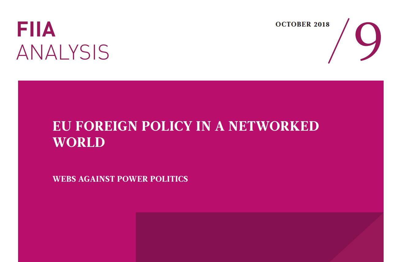 Image for EU Foreign Policy in a Networked World: Webs against power politics