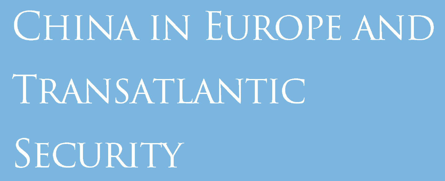 Image for China in Europe and Transatlantic Security