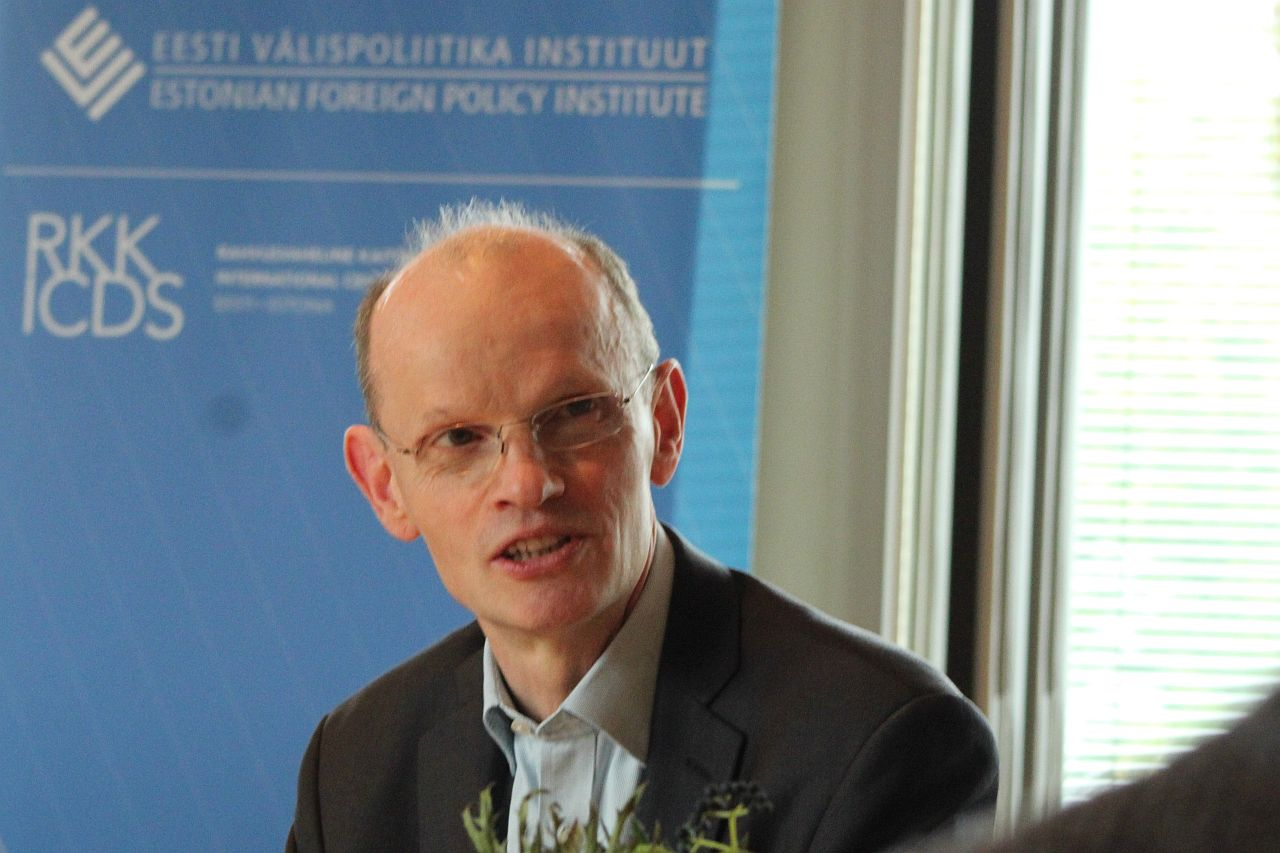 Image for John Lough Presented His Recent Book on Germany's Russia Problem at ICDS